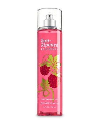 Bath & Body Works: Fine Fragrance Mist - Sun-Ripened Raspberry 8oz (Brand New)
