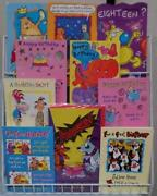 Job Lot Birthday Cards