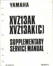 1998-2001 Yamaha XVZ13 Service Manual Supplement : LIT