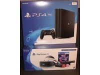 Playstation 4 pro with Playstation VR