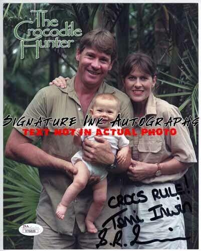 Steve Irwin & Terri Signed Autographed 8x10 Photo reprint