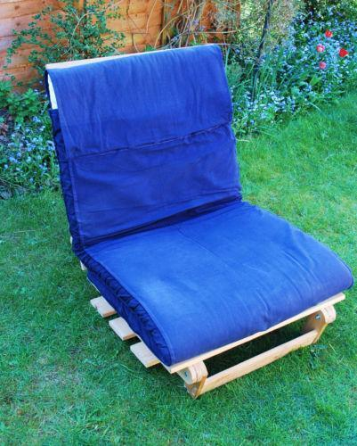 Ikea single chair bed ebay for Single bed sofa ikea