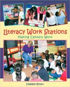 "book ""Literacy Work Stations: Making centers work"""