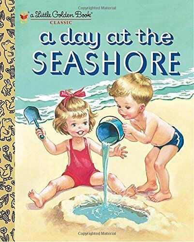 A Day at the Seashore Little Golden Book Classic Hardcover