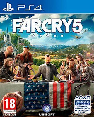Far Cry 5 PS4 Spiel Uncut *NEU OVP* FarCry 5 Playstation 4