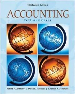 Accounting Text and Cases edition 13
