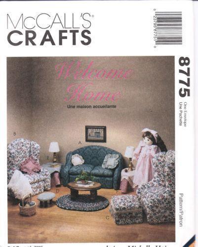 18 Doll Furniture Patterns Ebay