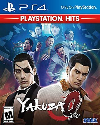 Usado, Yakuza 0 Zero [PlayStation 4 PS4 SEGA Open World Action Fighting Weapons] NEW comprar usado  Enviando para Brazil
