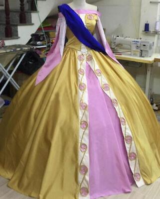 Anastasia Adult Costume Anya Dress Princess Cosplay Gothic Ball Gown Custom Made - Anastasia Costume