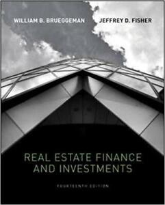 Real Estate Finance and Investments (Brueggeman, Fisher)