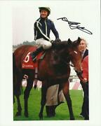 Horse Racing Signed