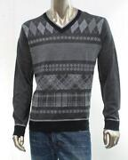 Mens Wool V Neck Sweater