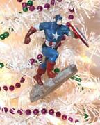 Captain America Ornament