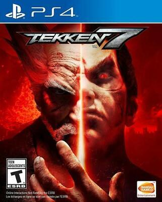 Tekken 7 PS4 Brand New Factory Sealed PlayStation 4