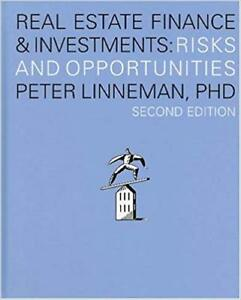 Real Estate Finance and Investments: Risks and Opportunities
