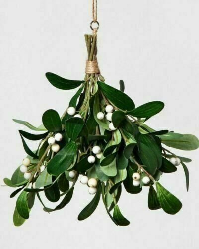 Faux Mistletoe with White Berries – Hearth & Hand with Magnolia Holiday & Seasonal Décor