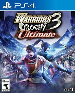 Warriors Orochi 3 Ultimate PS4 - new