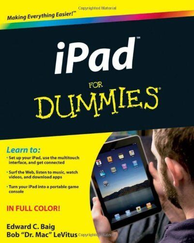 iPad For Dummies (For Dummies (Computers)),Edward C. Baig, Bob LeVitus