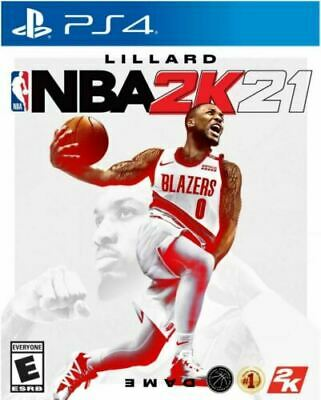 NBA 2K21 PS4 PlayStation 4 BRAND NEW SEALED