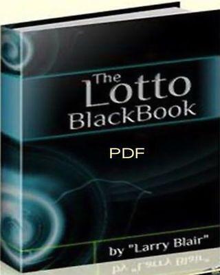 Lottery Lotto Black Book Lucky Winning Guide Secrets (eBook-PDF file)