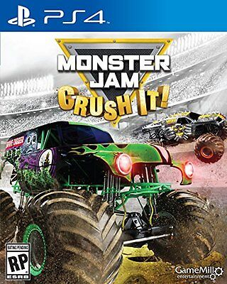 $48.00 - Monster Jam PS4 - PlayStation 4 Brand New Ps4 Games Sony Factory Sealed