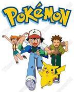 Pokemon Iron on Transfers