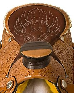 """15"""" 16"""" 17""""  Western Saddles Wade Cowboy Ranch All Leather $697 London Ontario image 9"""