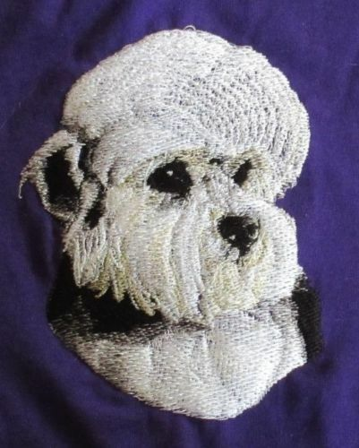 Embroidered Ladies Fleece Jacket - Dandie Dinmont Terrier BT3513  Sizes S - XXL