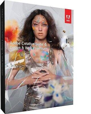 Adobe CS6 Design & Web Premium For Mac Genuine
