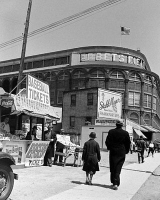 Brooklyn Dodgers Photo - Ebbets Field Photo 8X10 - 1940's Brooklyn Dodgers Flatbush  Buy Any 2 Get 1 FREE