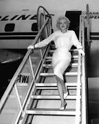 Marilyn Monroe Black and White Picture