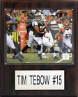 Tim Tebow NFL Plaques