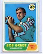 Bob Griese Rookie