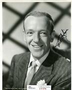 Fred Astaire Signed