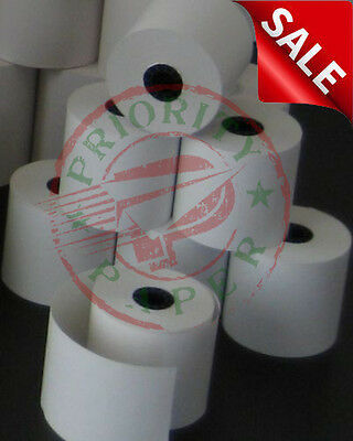 Verifone Vx680 2-14 X 50 Thermal Receipt Paper - 6 Rolls Free Shipping