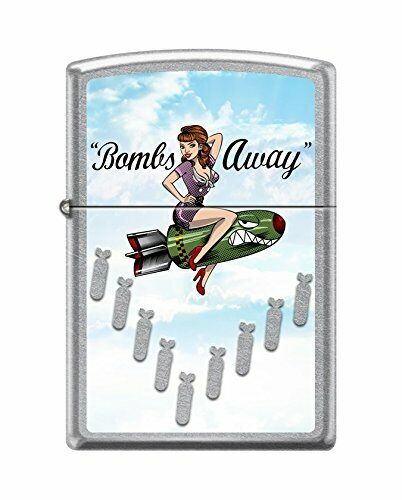 Zippo Lighter PinUp Girl Bombs Away NUMBER 2. New In Box Lim