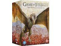 Game Of Thrones Season 1-6 Complete DVD Boxset Sealed