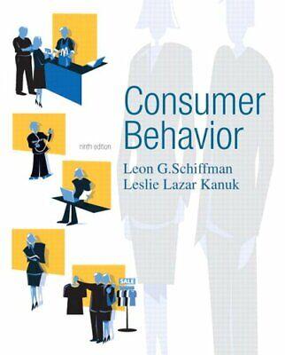 Consumer Behavior,Leon Schiffman, Leslie Kanuk- 9780131869608