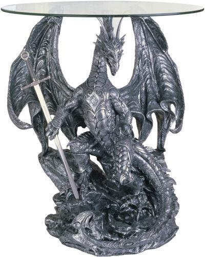 Dragon End Table Ebay