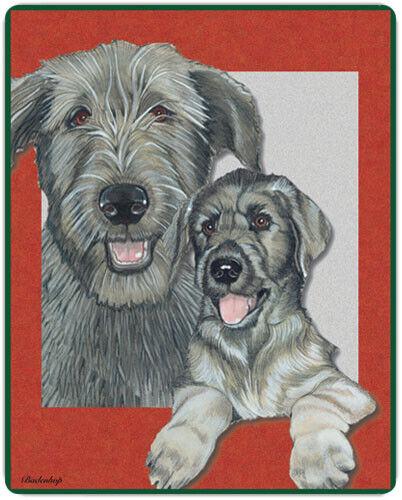 Irish Wolfhound Large Cutting Board