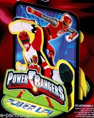 POWER RANGERS RED RANGER CENTERPIECE ~ Birthday Party Supplies Table Decoration (Power Ranger Supplies)