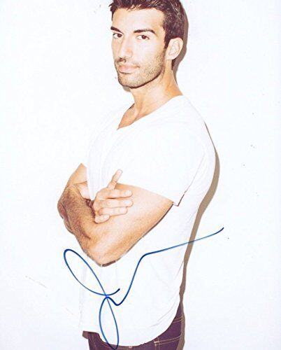 Justin Baldoni Signed Autographed 8x10 Photo Jane The Virgin Gay Interest COA VD