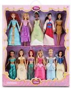 Disney Princess 10 Doll Set