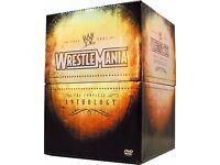 WWE Wrestlemania - The Complete Anthology DVD Box Set - 31 Discs WWF Wrestling