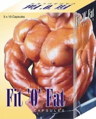 FIT O FAT 50 Weight Gain Capsule Ayurvedic Herbal Pills - Men/Women Best