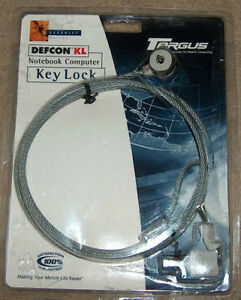 Defcon KL Notebook Computer Key Lock by Targus