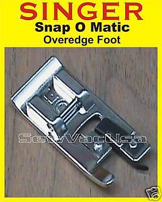 SINGER Genuine Serging Overcast Foot Fits Simple 2263 3116 3221 3223 3232 3337