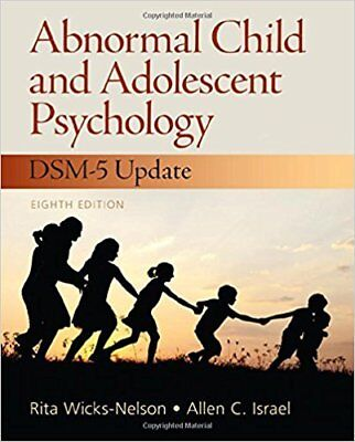 Abnormal Child and Adolescent Psychology with DSM-V Updates 8e Global Edition for sale  Shipping to Nigeria