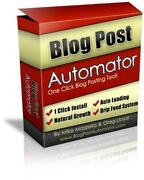Blog Software