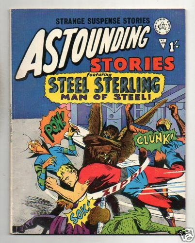 ASTOUNDING STORIES :: 69 :: STEEL STERLING